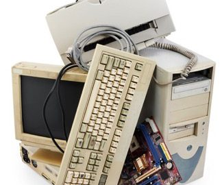 Old Computer Equipment for recycling
