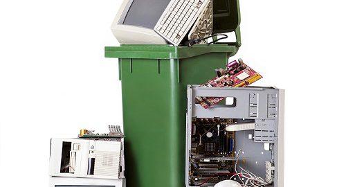 recycling computers and hard drives